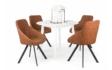 Kép 1/5 - Anita körasztal, Domino székekkel