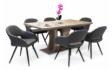 Kép 2/8 - Bella asztal Cristal székekkel