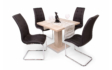 Kép 2/7 - 80 cm-es Bár asztal Emma székekkel