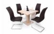 Kép 2/7 - 80 cm-es Cocktail asztal Emma székekkel