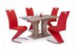 Kép 2/7 - Bella asztal piros Lord székekkel