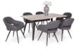 Kép 1/8 - Tina asztal san remo - Cristal székekkel