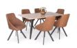 Kép 1/7 - Tina asztal sonoma Domino székekkel