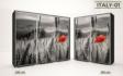 Kép 3/37 - Italy style tolóajtós gardrób| Üveges Ajtó, mintákkal | 239 cm