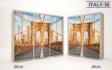 Kép 18/37 - Italy style tolóajtós gardrób| Üveges Ajtó mintákkal | 160 cm