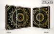 Kép 27/37 - Italy style tolóajtós gardrób| Üveges Ajtó, mintákkal | 239 cm