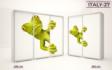 Kép 29/37 - Italy style tolóajtós gardrób| Üveges Ajtó mintákkal | 160 cm