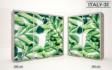 Kép 33/37 - Italy style tolóajtós gardrób| Üveges Ajtó, mintákkal | 239 cm
