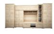 Kép 1/5 - Andorra szekrénysor sonoma színben 410 cm-es kivitel.