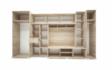 Kép 3/5 - Andorra szekrénysor belső elrendezés