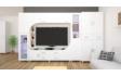 Kép 2/5 - Cordoba szekrénysor, 360 cm, rusztik fehér - rusztik fehér