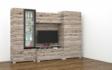 Kép 5/10 - Messina 300 cm-es nappali szekrénysor san remo színben