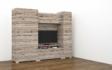 Kép 4/11 - Messina 255 cm-es nappali szekrénysor 90 cm-es ruhás elemmel, san remo színben