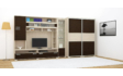 Kép 4/8 - Tokylux 410 cm-es nappali szekrénysor jobbos