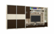 Kép 1/8 - Tokylux gardróbos nappali szekrénysor 410 cm-es
