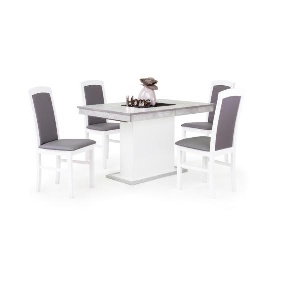Flóra asztal Barbi székekkel | 4 személyes étkezőgarnitúra