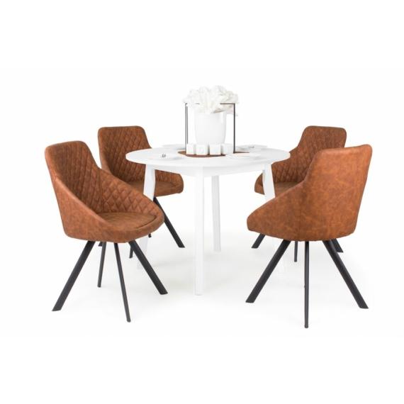 Anita körasztal, Domino székekkel