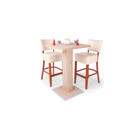 Cocktail asztal Róma bárszékekkel