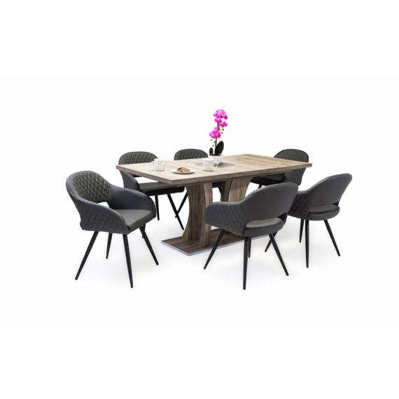 Bella asztal Cristal székekkel
