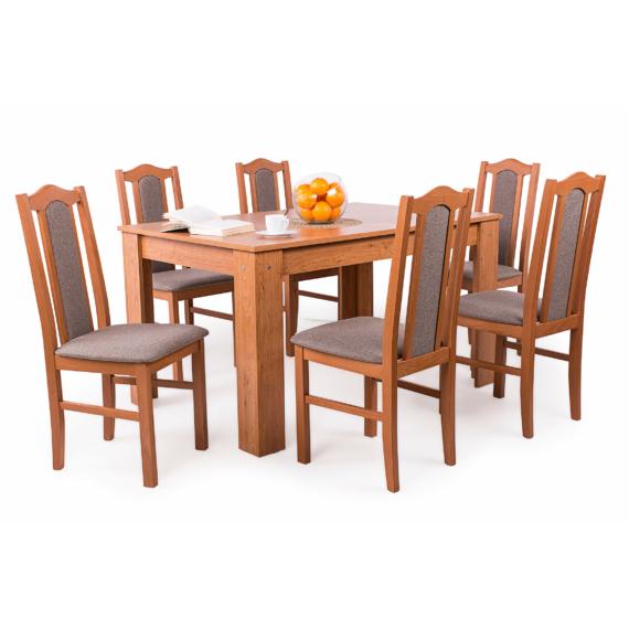 Félix asztal London székekkel