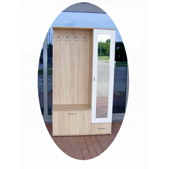 Tükrös előszoba | 110 cm