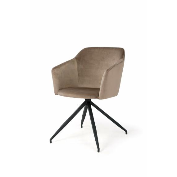 charlotte szék barna színben
