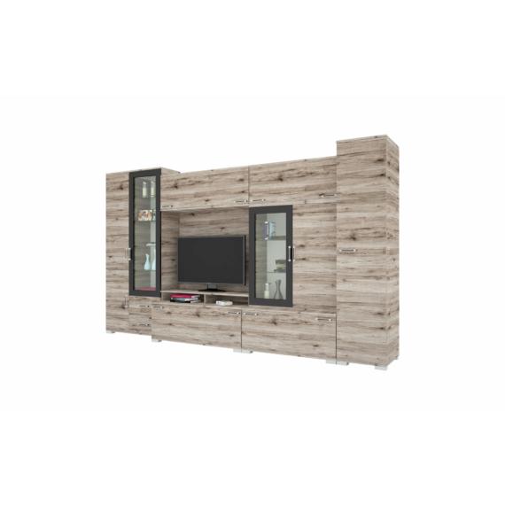 Messina szekrénysor 355 cm-es, san remo színben