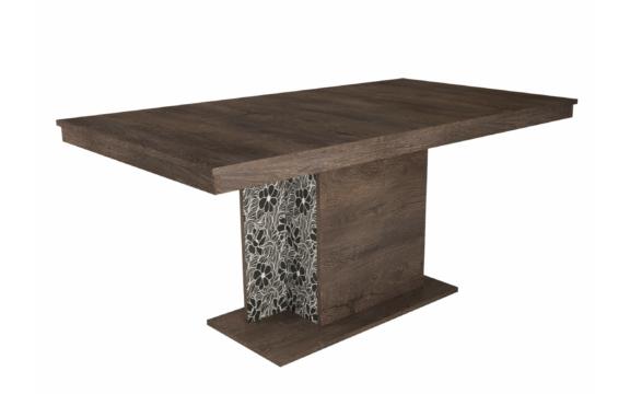 Debora asztal 160 cm iszap tölgy színben