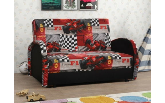 MAJA 2 kanapé formula piros