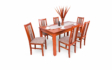 Kép 1/12 - Berta asztal Félix székekkel