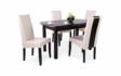 Kép 1/12 - Dante asztal Berta Mix székekkel