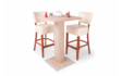 Kép 2/7 - 66cm-es Bár asztal Roma székekkel