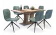 Kép 2/8 - Bella asztal Amazon székekkel