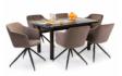Kép 10/12 - Dante asztal Charlotte székekkel