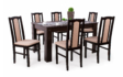 Kép 2/11 - Félix asztal Wenge Sophia székekkel