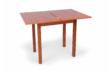 Kép 2/8 - Fiona asztal szétnyitva calwados színben