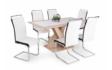 Kép 1/5 - Hanna étkezőasztal, száva székekkel