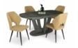 Kép 8/8 - Max étkezőasztal Aspen székekkel