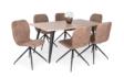 Kép 1/8 - Tina asztal sonoma Amazon székkel