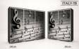 Kép 21/38 - Italy style tolóajtós gardrób| Üveges Ajtó, mintákkal | 239 cm