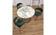 Kép 2/9 - Brodway étkezőasztal K426 székekkel   4 személyes étkezőgarnitúra