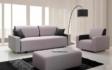 Kép 2/33 - Vlore kanapé, puff, fotel szürke