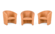 Kép 2/10 - berta elegant fotel barna színben