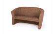 Kép 4/7 - berta duo fotel  sötétbarna zsákszövet színben