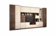 Kép 1/5 - Firenze 340 cm-es nappali szekrénysor ferrara tölgy és zebrano színkombínációban
