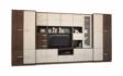 Kép 1/5 - Firenze 380 cm-es nappali szekrénysor ferrara tölgy és zebrano színkombínációban