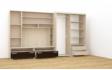 Kép 8/8 - Tokylux 360 cm-es nappali szekrénysor jobbos belső elrendezés