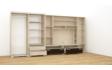 Kép 3/8 - Tokylux 410 cm-es nappali szekrénysor balos belső elrendezés