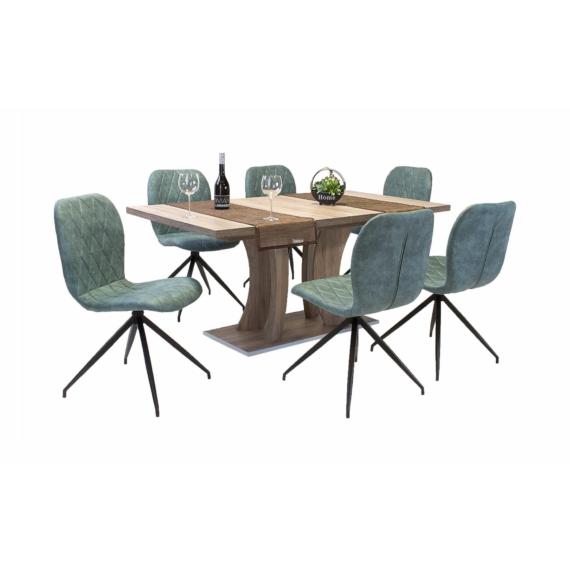 Bella asztal Amazon székekkel