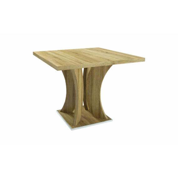 Bella asztal 90cm-es sonoma színben